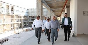 """Başkan Baran, """"Mimarisi İle Kocaeli'nin en müstesna binalarından biri olacak"""""""