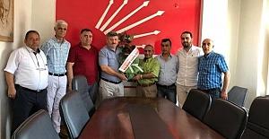 Esnaf Odası'ndan CHP Ziyareti