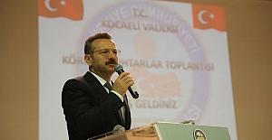 """VALİ AKSOY, """"BAYRAM VE  DÜĞÜNLERDE ATEŞ ETMEYELİM"""""""