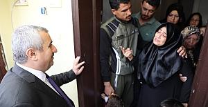 """Baran, """"Suriyeli Aileye  Gereken Yardım Yapılacak"""""""
