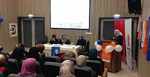 Ak Parti İl Kadın Kolları Eğitimlere Devam Ediyor
