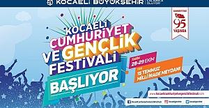 Kocaeli Gençliği Bu Festivalde Buluşuyor