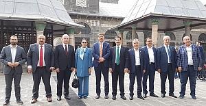 Milletvekili Yaman, Cumhurbaşkanı ile Diyarbakır'daydı