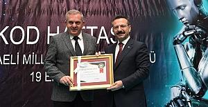 VALİ AKSOY'DAN  ROBOTİK SINIF TEŞEKKÜRÜ