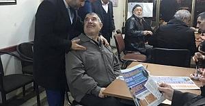Alim Erdemir Gazete Çıkarttı
