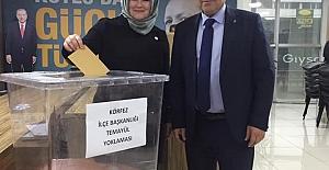 AK PARTİ KÖRFEZ'DE TEMAYÜL BAŞLADI