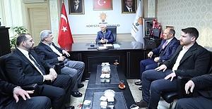"""Karaosmanoğlu; """"AK Parti Teşkilatları  İlk Günkü Gibi Bir ve Beraber"""""""
