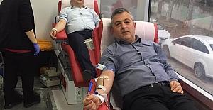 Ordulular Derneği kan  Bağışında Bulundu