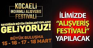"""İlimizde Alışveriş Festivali""""..."""