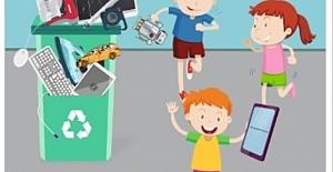 Okullar Bu Kez Elektronik Atık Toplamak...