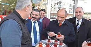 Özcan Atalay, Mahallesinde Çalıştı