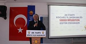 BAŞKAN TUNA : SEÇİM SANDIKTA KAZANILIR..!