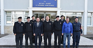 Doğan'dan Jandarma'ya Veda Ziyareti