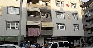 Apartman Yanma Tehlikesi  Atlattı