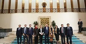 Başkan Aygün Ankara'da Temaslarda Bulundu