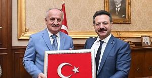 Başkan Aygün'den Vali Aksoy'a Ziyaret