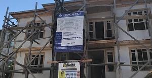 Çıpalı Konak'ın Pencere Doğramaları Takıldı