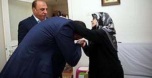 15 Temmuz Şehidi Edip Zengin'in Ailesini Ziyaret Etti