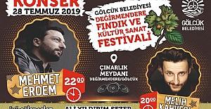 Ünlü Sanatçı Fındık Festivali'nde Sahne Alacak