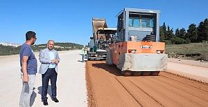 İlimtepe yolu asfaltlanıyor
