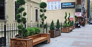 Modern şehir mobilyaları ile Kocaeli...