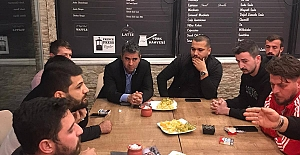 Başkan Turan, Kafe Sahipleriyle Bir Araya...