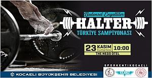 BEDENSEL ENGELLİLER TÜRKİYE HALTER...
