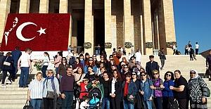 İlk Kez Anıtkabir'e Gittiler