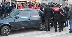 Ehliyetsiz Sürücü Terör Estirdi