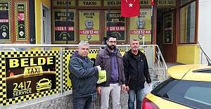 Taksicilere 'Dezenfekte Pompası