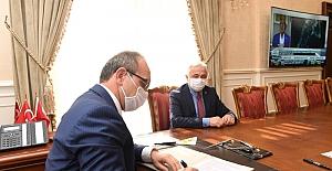 Vali Yavuz İlimizdeki İlk Protokolünü İmzaladı