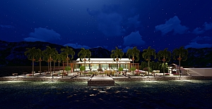 Darıca Sahil Parkına Yeni Restoran...
