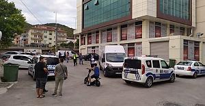 MAHALLE ARASINDAKİ  KAZADA KAVGA ÇIKTI