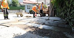 Mahallelerde Çalışmalar Sürüyor