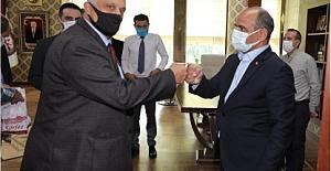 MHP Körfez'den Başkan Söğüt'e Ziyaret