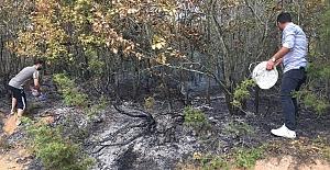 Orman Yangınını Vatandaş Engelledi