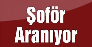 O KOOPERATİF  ŞOFÖR ARIYOR