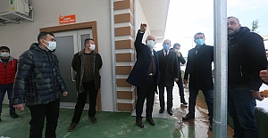 Başkan Aygün Şantiyeleri Gezdi, Projeleri İnceledi