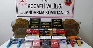 Kartepe#039;de Kaçak Tütün Operasyonu