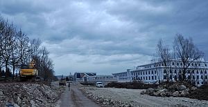 Yeni Emniyet Binasına Otopark ve Çevre Yolu