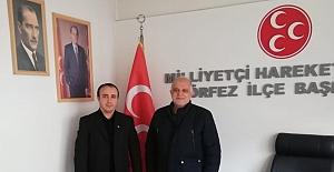 AGD'li Türkmen'den Körfez MHP'ye Ziyaret