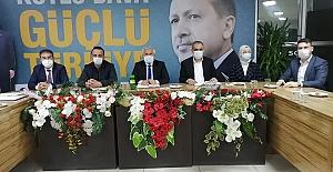 Ak Partide Tuna Yönetimini Topladı