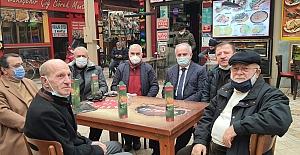 Başkan Aygün, Taşköprü Aspir Yağı'nı Tanıtıyor