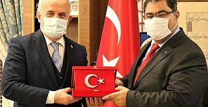 Başkan Aygün'den Rektör Aslan'a Ziyaret