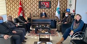 Başkan Öztürk'ten Muhasebecilere Ziyaret