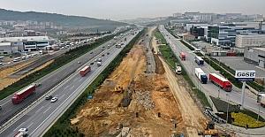 Gebze'deki dev projede çalışmalar Kuzey...
