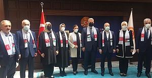 """Başkan Aygün: """"Filistinli Kardeşlerimizin..."""