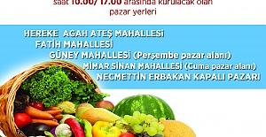 KÖRFEZDE KURULACAK PAZAR YERLERİ...