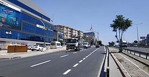 Gebze İstanbul Caddesi#039;nde Yol...