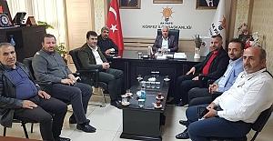 Konuk Başkan Yaşar Tunayı Ziyaret...